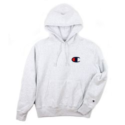 REVERSE WEAVE HOODED C-LOGO PULLOVER 애쉬 컬러
