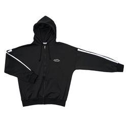 프리미엄 오버사이즈 짚 재킷 (black)