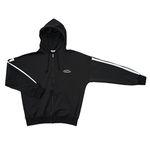 Premium Oversize Zip Jacket (black)