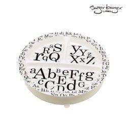 흡착접시 이유식기-알파벳ABC