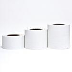 몰딩 시트지 무늬목 그레인 화이트 (GSL571M) (폭)8cm