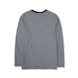 TRS CLASSIC TONGUE STRIPE NAVY LONG SLEEVE