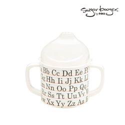 혼자서도 마시기 쉬운 양손잡이컵-알파벳ABC