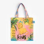Pink lion : Minibag