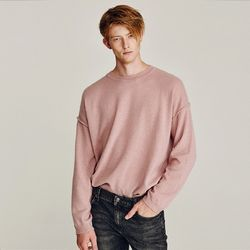 EVEN OVERFIT WOOL KNIT (PINK)