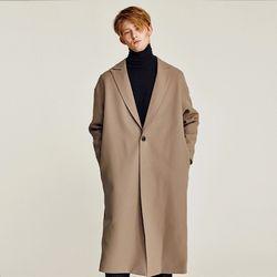 JAKE OVERFIT LONG COAT (BEIGE)
