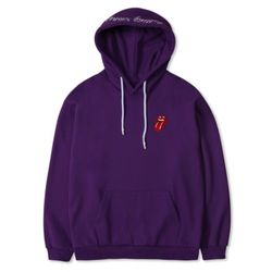 TRS CLASSIC TONGUE COLOR HOODIE PURPLE