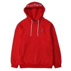 TRS CLASSIC TONGUE COLOR HOODIE RED
