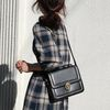 Black stitch bag