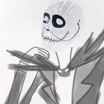 할로윈의 악몽 투명마스크 (신랑)