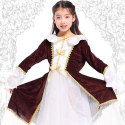 [G-0223] 중세공주 드레스 (6-8세)