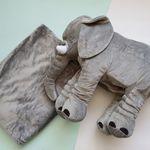 코끼리 담요 베게 쿠션 낮잠 담요