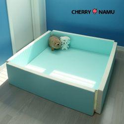 체리나무 범퍼매트 유아 아기 쿠션 가드 신생아 침대