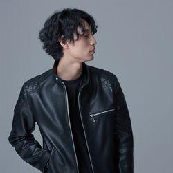 China Collar Rider Jacket