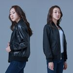MA-1 Reversible Jacket for Woman (Black&Black)