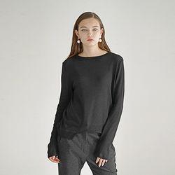 Wool Pullover - Black