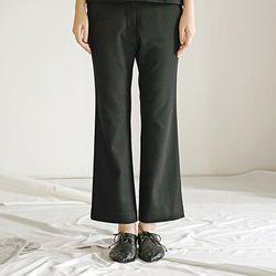 Bootcut Pants - Black