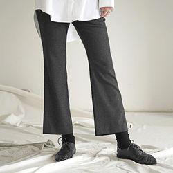 Bootcut Pants - Dark Grey