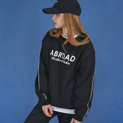 시그니처 로고 스웨트 셔츠 (black)