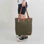 D SHOULDER BAG (Khaki)
