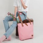 D SHOULDER BAG (Pink)