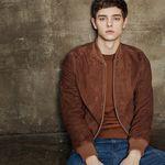 Suede Blouson jacket (Brown)