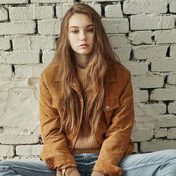 Suede Type-3 jacket (Camel)