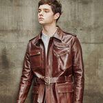Motorcycle jacket (Brown)