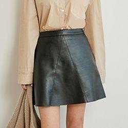 [로코식스] A leather miniskirt스커트