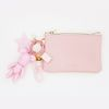 스트로베리 card & coin wallet (baby pink)