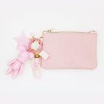 스트로베리 card & coin wallet (baby pink)
