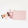 페코짱 card & coin wallet (baby pink)