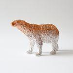 북극곰 오브제 (로즈골드)