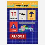 [럭키플래닛]프리미엄 리폼스티커-Airport Sign