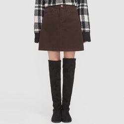 miu cotton mini skirt