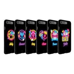 라인프렌즈 iPhone8+ 7 Plus NEON 라이팅 케이스