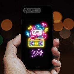 라인프렌즈 iPhone8 7 NEON 라이팅 케이스