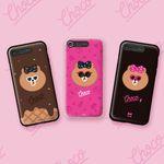 라인프렌즈 iPhone7 7Plus AS NEW 초코 라이팅 케이스