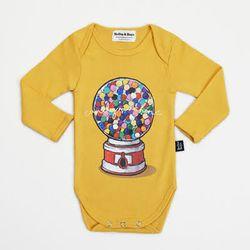 Yellow Candymachine Bodysuit