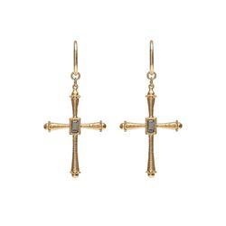 Dreamer Big Cross Earrings