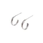 Dreamer Braid Hoop Earrings