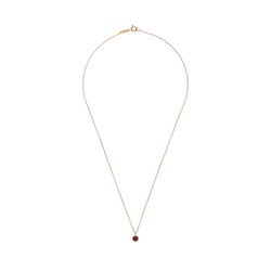 Lover Circle Crystal Necklace
