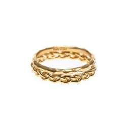 Lover Layered Ring 2 Set