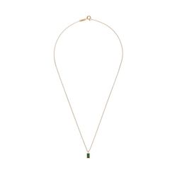Lover square Crystal Necklace