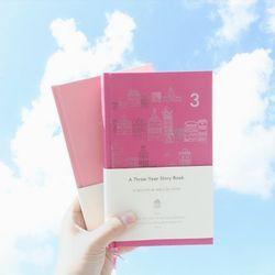 [3년일기장] A Three-year Story Book - Pink Edition