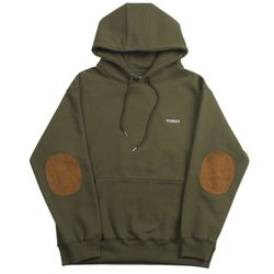 PATCH HOODIE - OLIVE