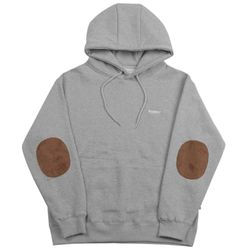 PATCH HOODIE - GRAY
