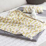 바나나 낮잠이불 풀세트(낮잠패드1+블랭킷1+베개1)