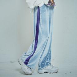 velvet line track pants (2 color)