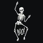 할로윈 skeleton A 장식 해골 스티커 [중형-DIY제품]